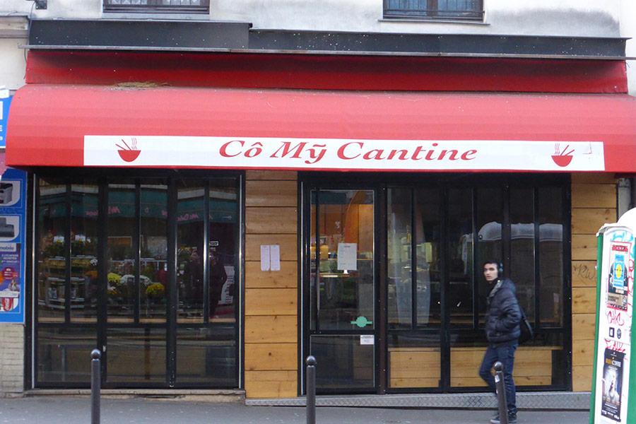 Co My Cantine - Rue de Menilmontant Paris 20