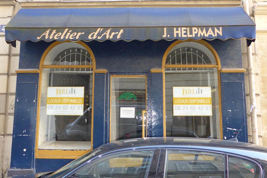 Gallerie Helpman - Rue du 29 Juillet Paris 1